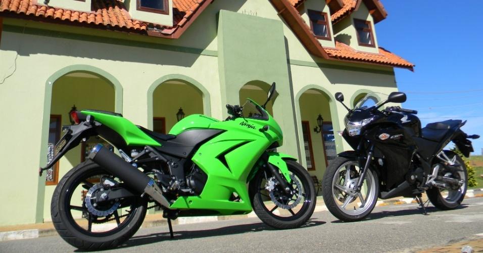 Em São Paulo, a Ninja custa R$ 16.630, enquanto a CBR 250R sai por R$ 16.300, sem ABS