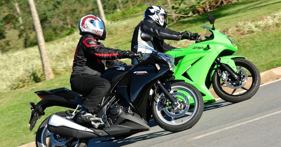 Honda CBR 250R e Kawasaki Ninja 250R são fabricadas na Tailândia e têm sobrenome Racing; ambas são montadas em Manaus (AM)