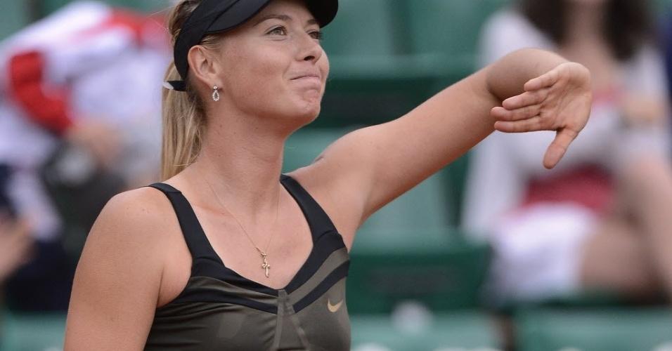 Maria Sharapova segue arrasadora em Paris e derrotou a japonesa Ayumi Morita