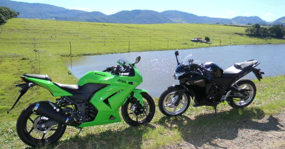 Na estrada, as motos também oferecem bom nível de conforto aos pilotos
