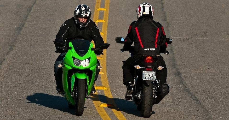 No quesito design, as duas motos trazem projetos atuais e bem resolvidos