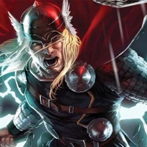 O personagem dos quadrinhos Thor, criado por Joe Kubert