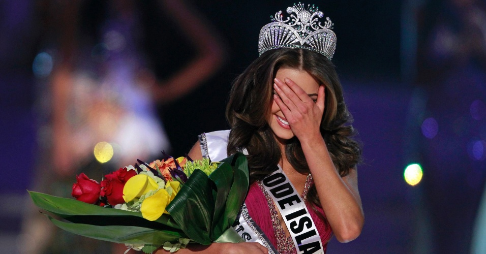 04.jun.2012 - A Miss Rhode Island, Olivia Culpo, &#233; a Miss Estados Unidos 2012