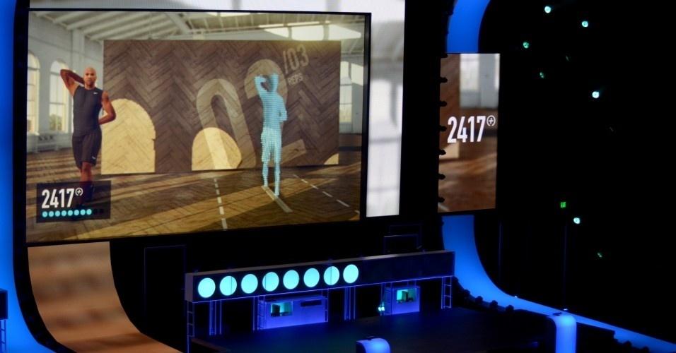 A Microsoft e a Nike trabalham juntos num game de ginástica para Kinect. Os jogadores ganham pontuações específicas e pode comparar com outros usuários na Xbox Live