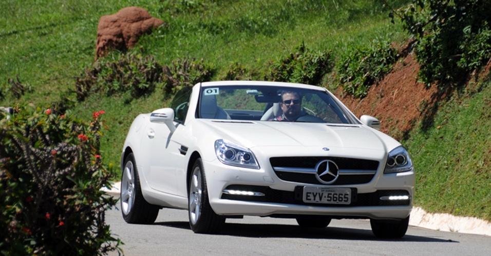 Mercedes-Benz SLK 250 Turbo 2012: com IPI maior, apenas a versão intermediária do roadster vem ao país
