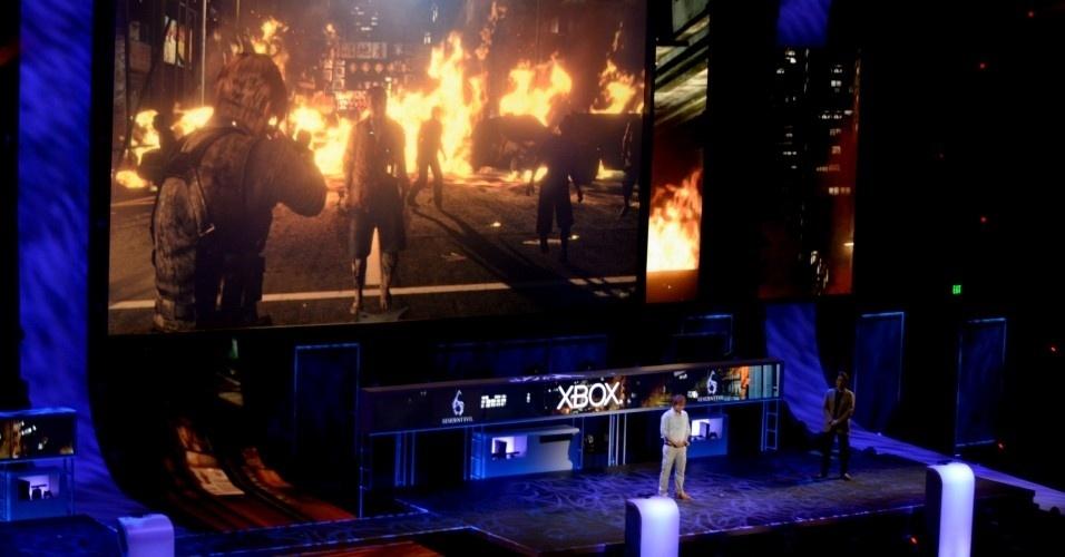 Os japoneses da Capcom foram econômicos no discurso, mas mostraram mais cenas de jogo de