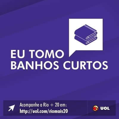 Eu tomo banhos curtos