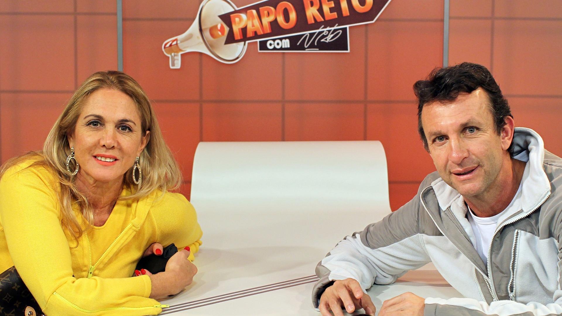 Hortência foi entrevistada por Neto no programa Papo Reto desta terça-feira (05/06/2012)