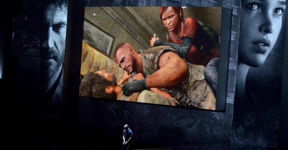 Último jogo a ser mostrado na conferência da Sony na E3 2012,
