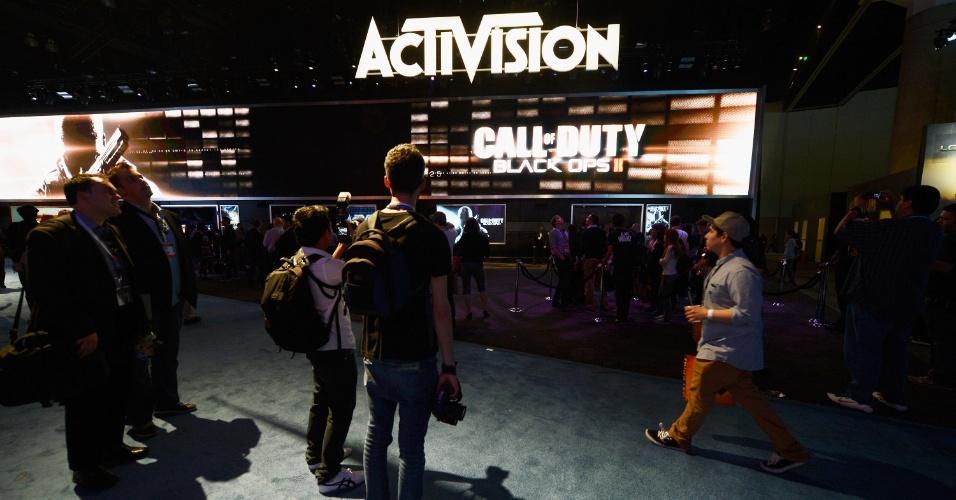 Activision dedicou uma área especial para mostrar