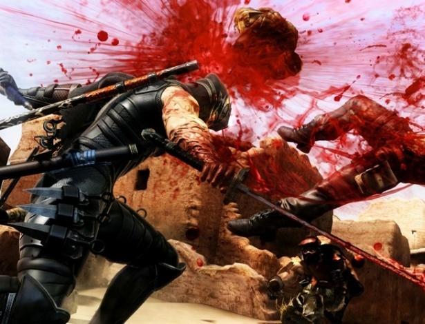 """Após versões para PS3 e Xbox 360, """"Ninja Gaiden 3"""" leva sangue e cortes de espada ao Wii U"""