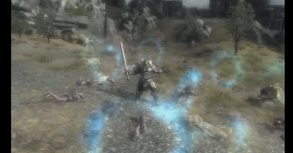 """""""Ascend News Gods"""" mostra batalha entre Deuses e montaria em monstros"""
