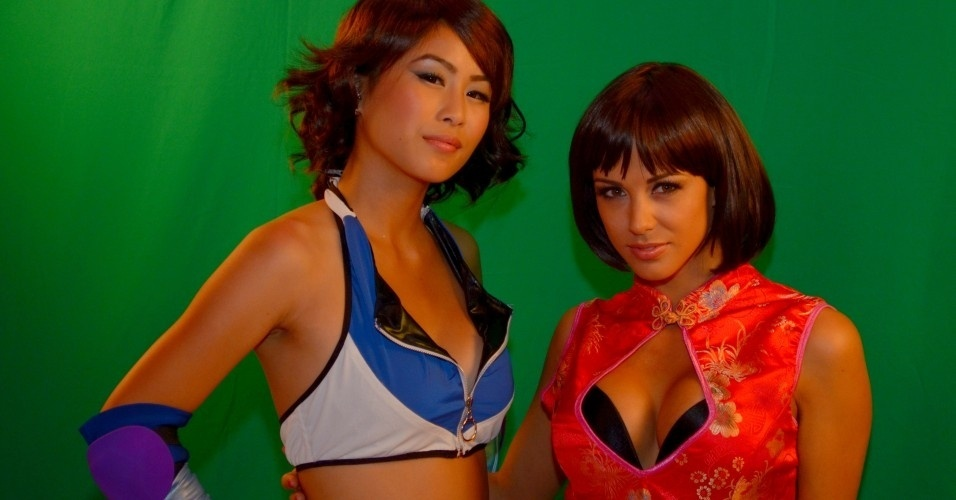 Asuka e Anna Williams fizeram a alegria dos fãs de