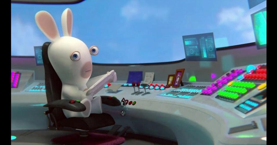 """Coelhos aloprados invadem o Wii U em """"Rabbids Land"""""""