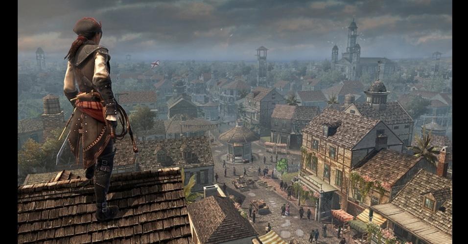 """Exclusivo para PS Vita, """"Assassin's Creed: Liberation"""" terá uma mulher como protagonista"""