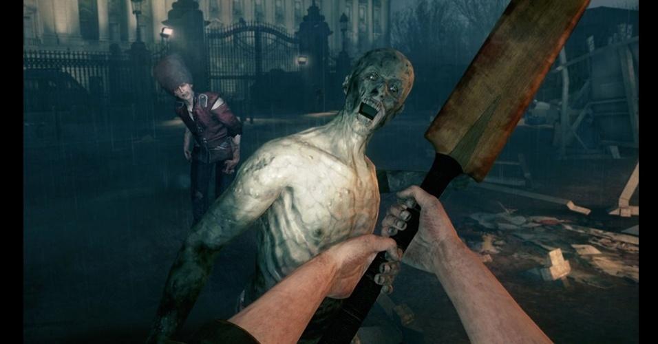 """Jogador enfrenta mortos-vivos em """"Zombi U"""", game exclusivo para Wii U"""