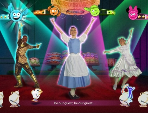 """Just Dance: Disney Party"" é game musical com canções de sucesso da Disney"