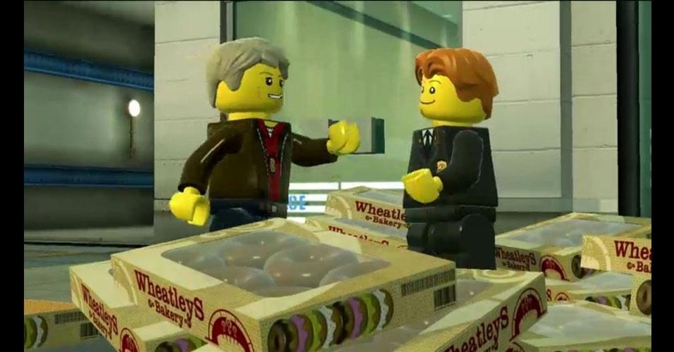 """""""LEGO City Undercover"""" mistura os bonecos com jogo de espionagem nos moldes de """"GTA"""""""