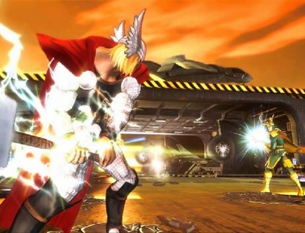 """""""Marvel Avengers: Battle for Earth"""" é jogo de luta entre heróis para Xbox 360 e Wii U"""