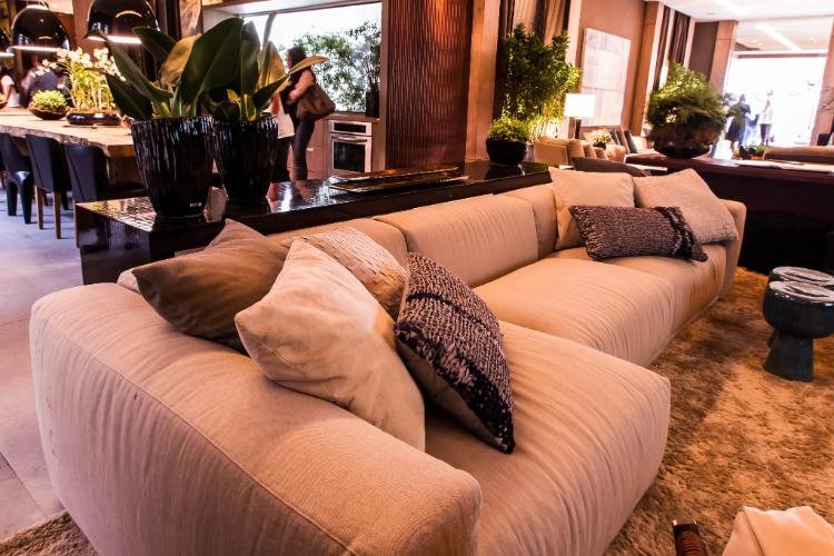 Projeto Casa Cor: Casa do Jatobá, assinada por Debora Aguiar, para a edição paulistana da mostra em 2012