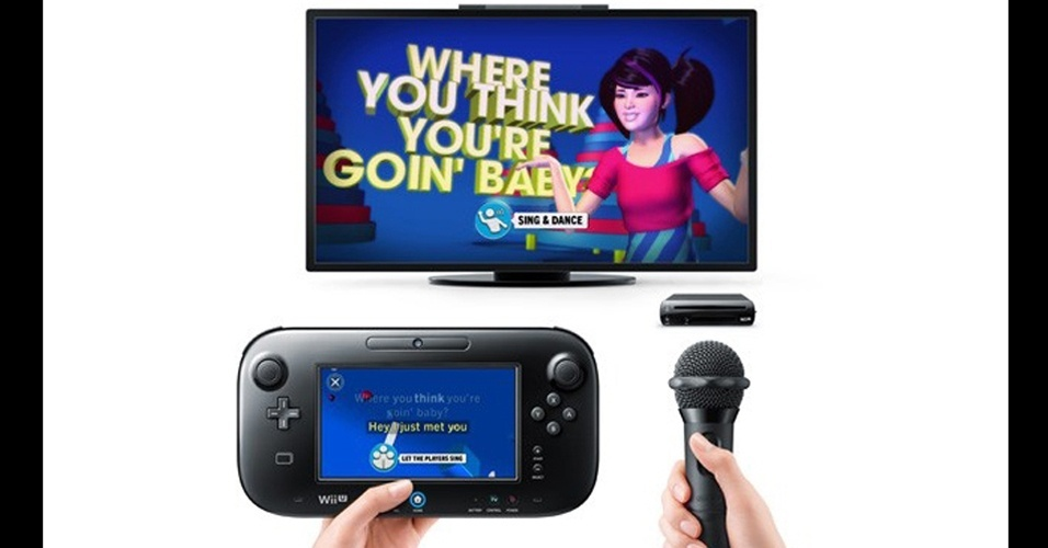 """""""Sing"""" é jogo musical para Wii U que combina karaokê e dança."""