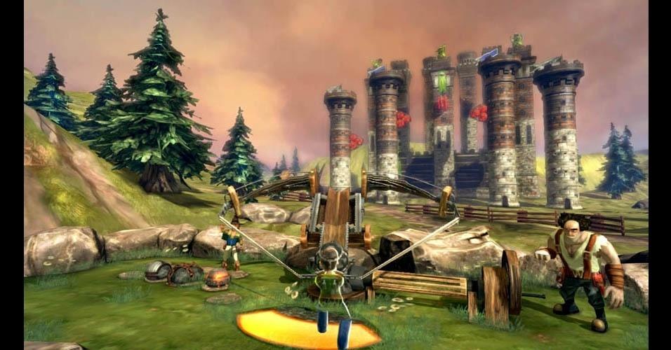 """""""Wreckateer"""" é jogo em estilo """"Angry Birds"""" com suporte ao Kinect"""