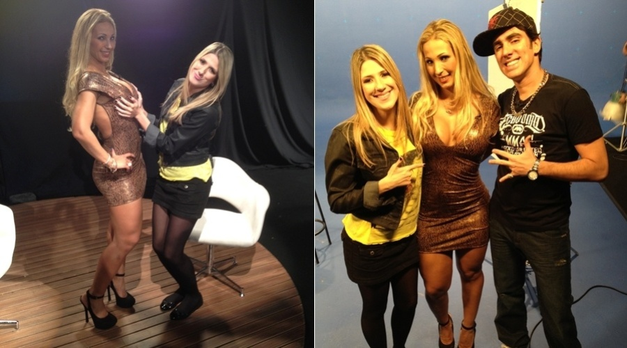 "A funkeira Valesca Popozuda gravou uma participação no programa ""Comédia MTV"" (7/6/12)"