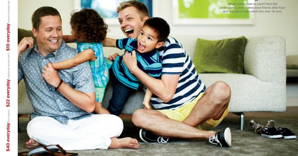 Campanha da JC Penney para o Dia dos Pais