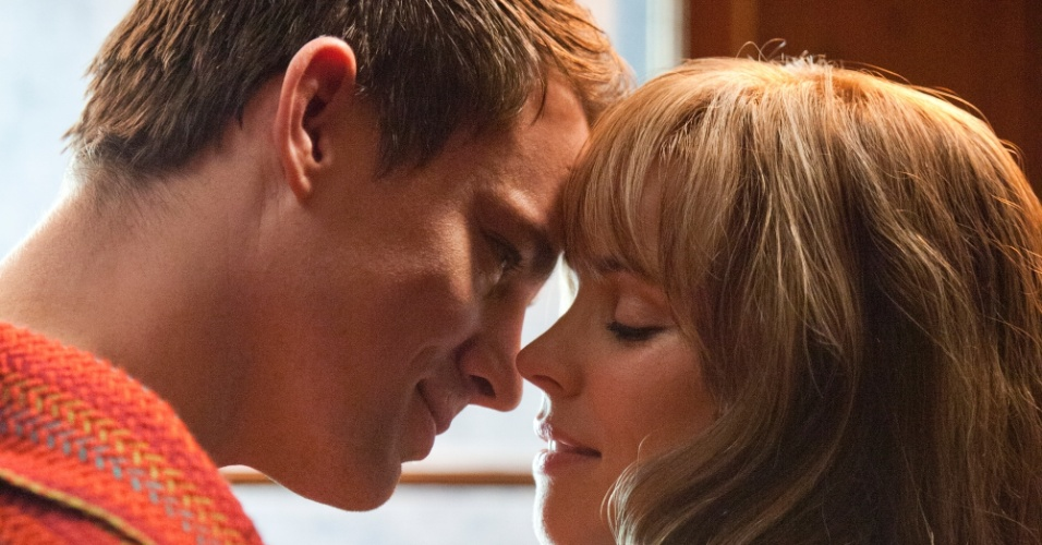 Channing Tatum e Rachel McAdams em cena do filme &#34;Para Sempre&#34;