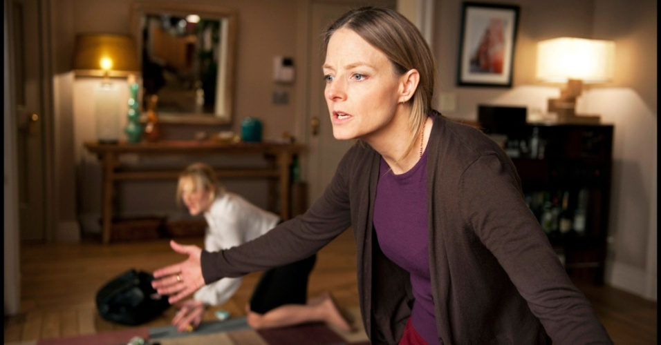 Jodie Foster em cena de &#34;Deus da Carnificina&#34;, de Roman Polanski