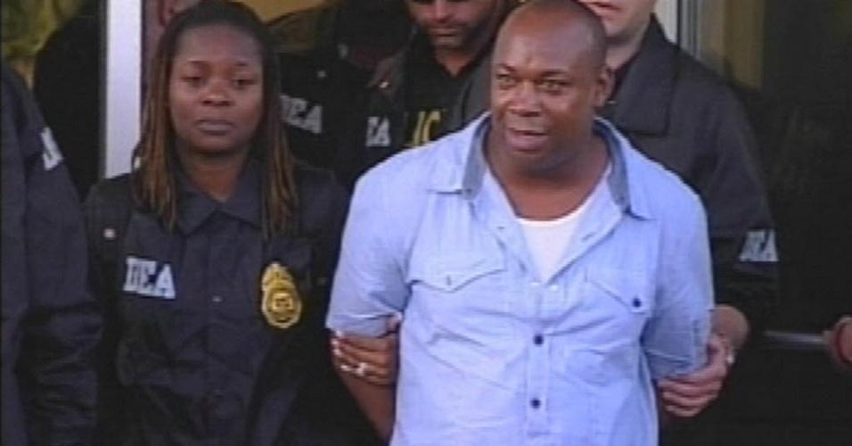 """8.jun.2012 - Christopher """"Dudus"""" Coke, considerado pelas autoridades o chefão do tráfico de drogas na Jamaica"""