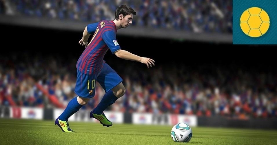 """ESPORTE - VENCEDOR: Na disputa pela supremacia do futebol virtual, """"FIFA 13"""" apresenta um trabalho mais consistente, refinando o elogiado conjunto do ano passado de boas maneiras e acrescentando ainda legendas em português."""