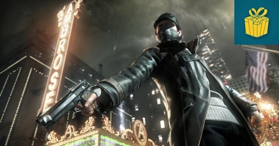 """SURPRESA - VENCEDOR: Quando o cofundador da Ubisoft Yves Guillemot anunciou um jogo no qual a empresa trabalhava secretamente faz dois anos, ele tinha cara de quem sabia que tinha um ás na manga. O potencial e os gráficos de """"Watch Dogs"""" pegaram os gamers de surpresa."""