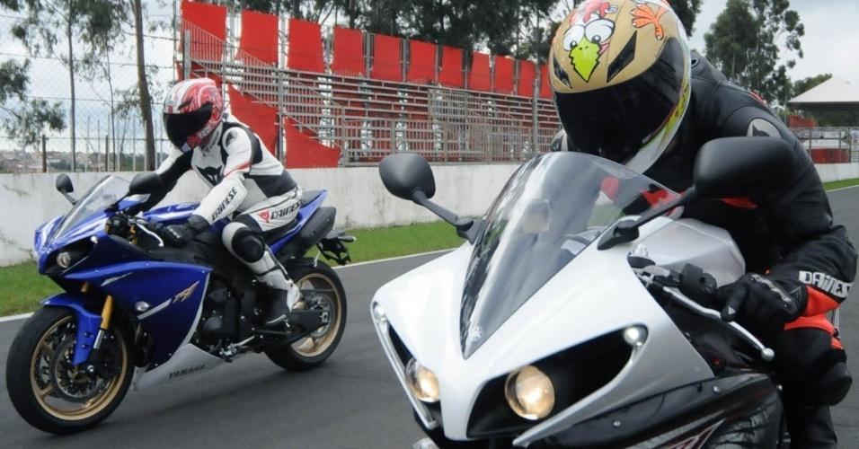 Superesportiva de 1.000 cc da Yamaha continua com 182 cv de potência máxima