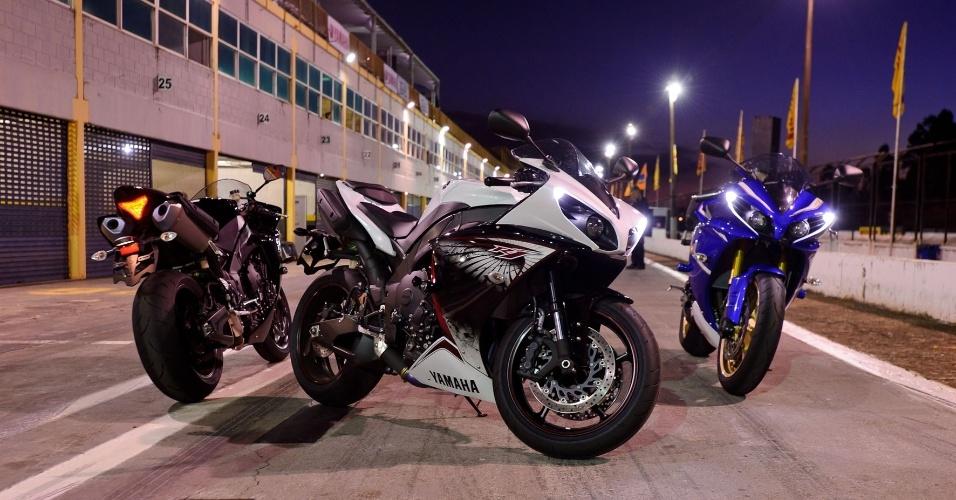 Supersportiva chega ao modelo 2013 com três opções de cores: preta, branca e azul