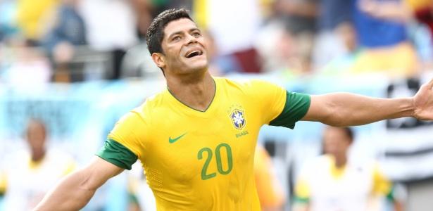 Hulk marcou três gols nos quatro amistosos antes da convocação e convenceu Mano a levá-lo