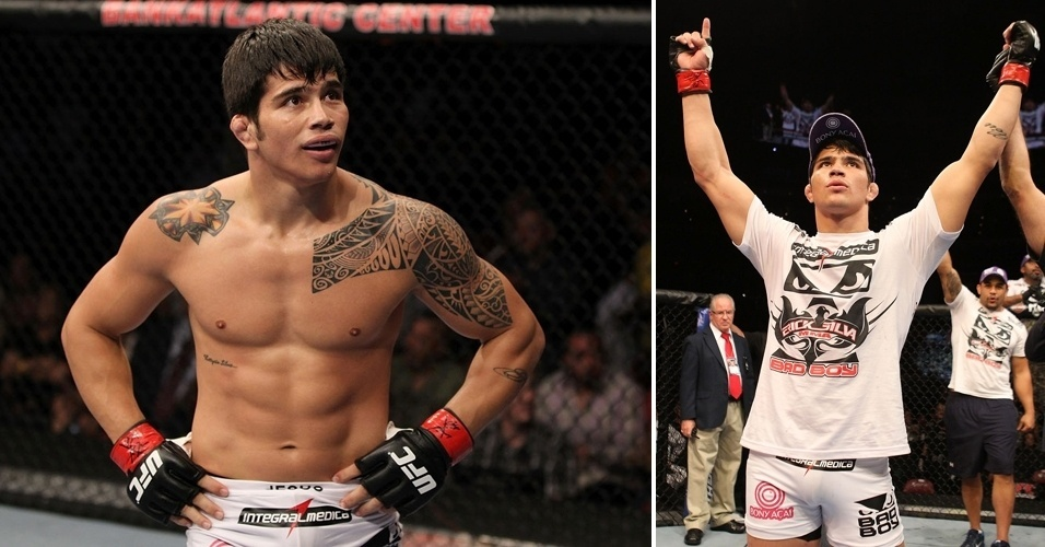 Erick Silva comemora sua segunda vitria em trs lutas no UFC, com uma apresentao dominante e finalizao