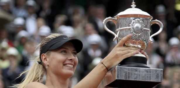 Antes do título em RG, Sharapova já tinha garantido o retorno ao topo do ranking