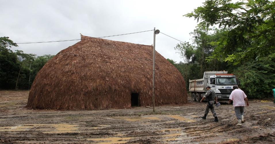 Oca ?Carioca? dentro da Colônia Juliano Moreira, onde vão acontecer as conferências dos Povos Indígenas.