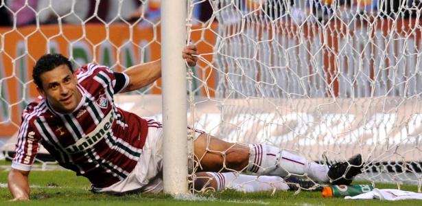 Fred voltou de lesão e participou do jogo contra o Internacional, que terminou em 0 a 0