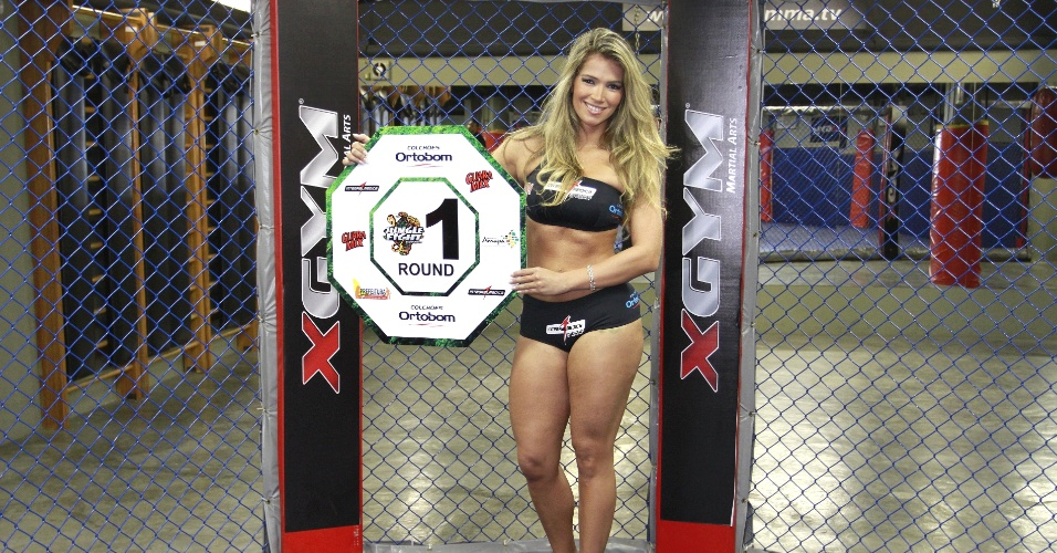 A ex-BBB Fani foi anunciada nesta segunda-feira como ring girl do Jungle Fight; o evento chega  edio de nmero 40 e mais uma vez aposta em ex-participantes do reality. A disputa ser em 15 de junho, no Amap 