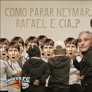 Corneta FC: Tite encontra receita para vencer o Santos de Neymar