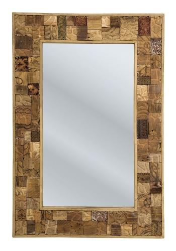 Medindo 1,2 m x 0,8 m, o espelho Memory tem moldura confeccionada com mix de madeiras recicladas e MDF. A peça custa R$ 2.973 e é vendida pela Kare (www.kare-saopaulo.com.br)