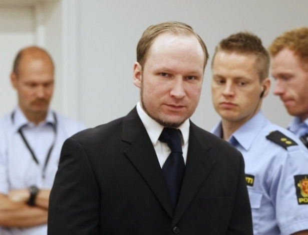 12.jun.2012 - Atirador da Noruega, Anders Breivik