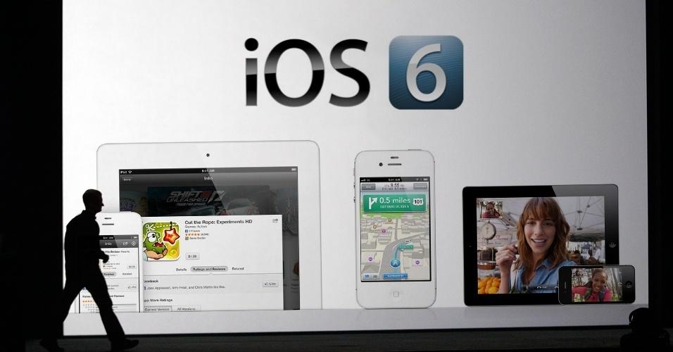 Abre para álbum sobre o sistema iOS 6