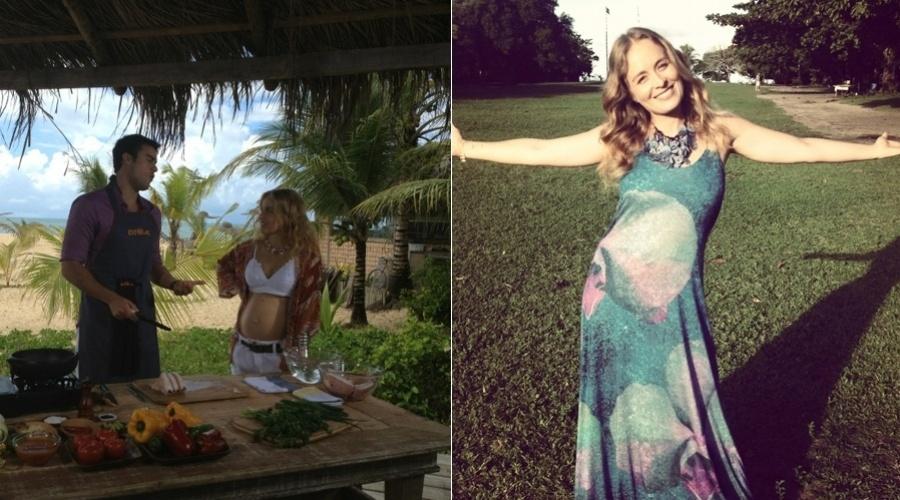 """Angélica gravou o programa """"Estrelas"""" em Trancoso, na Bahia (12/6/12)"""