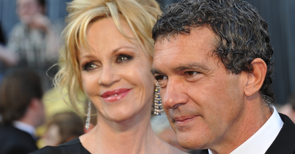 Antonio Banderas e Melanie Griffith, casal de atores