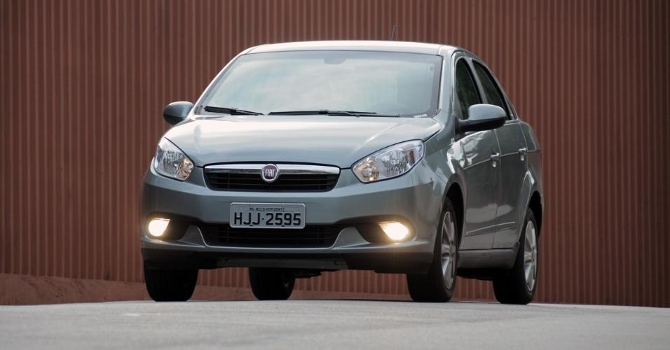 Com preço inicial de R$ 36 mil, Fiat Grand Siena 1.4 leva a sério o sobrenome Attractive: tem lista de equipamentos atraente e visual estiloso