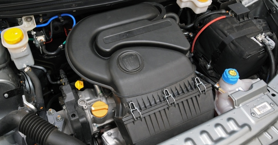 Motor da vers&#227;o Attractive &#233; o Fire Evo 1.4 -- lan&#231;ado no novo Uno --, de at&#233; 88 cv, a 5.750 rpm, e 12,5 kgfm de torque, com etanol no tanque