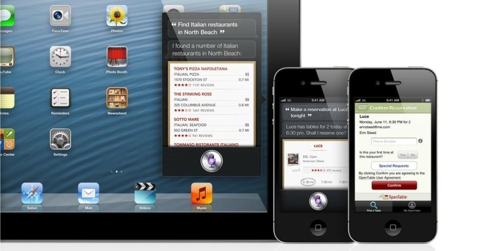 Recursos do iOS 6 - Siri no iPad e iPhone